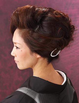 成人式 髪型 ボーイッシュ